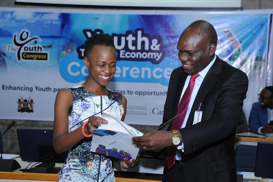 Fredrick Owino, Blue Economy
