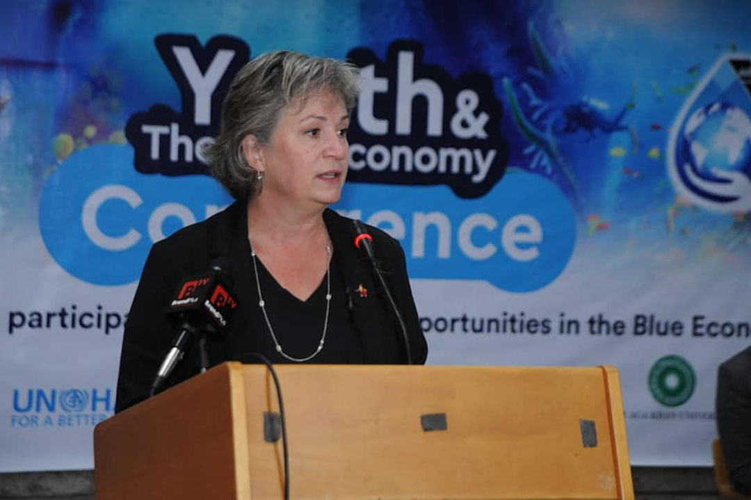 High Commissioner to Canada Blue Economy