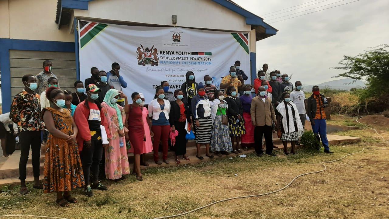 Kenya Youth Development Policy dissemination